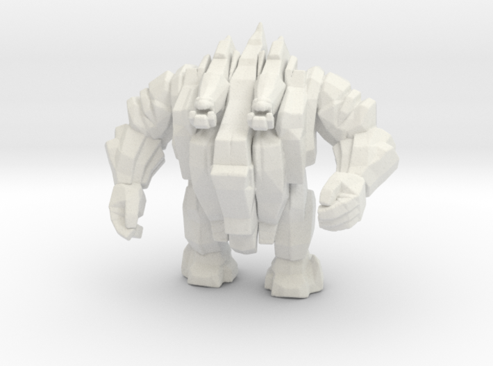 Earth Elemental 55mm DnD miniature for games rpg 3d printed