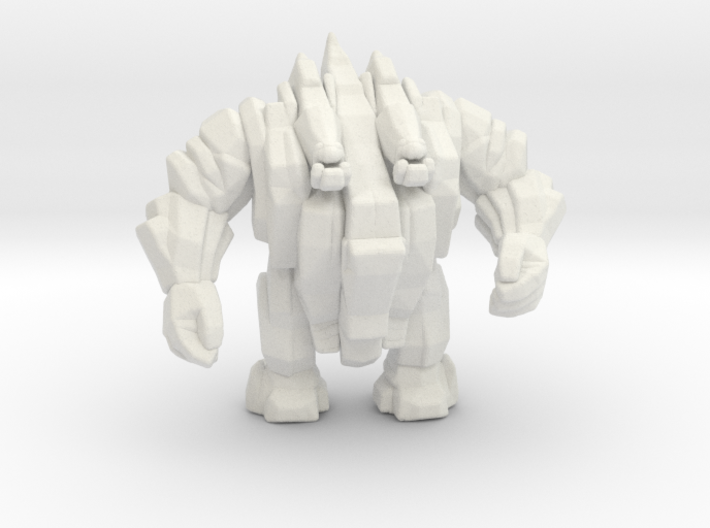 Stone Golem 45mm DnD miniature for games and rpg 3d printed