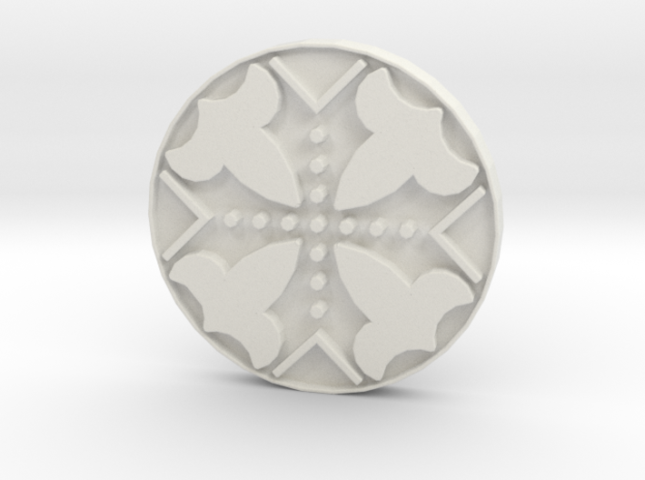 Assassins Creed - Connor Kenway Button 20cm - V1 3d printed