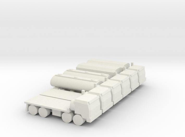 6x Cargo-8 3d printed