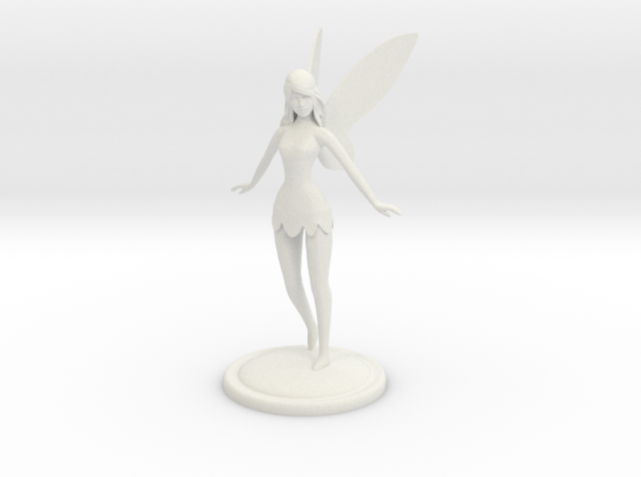 Fairy statue 3d printed