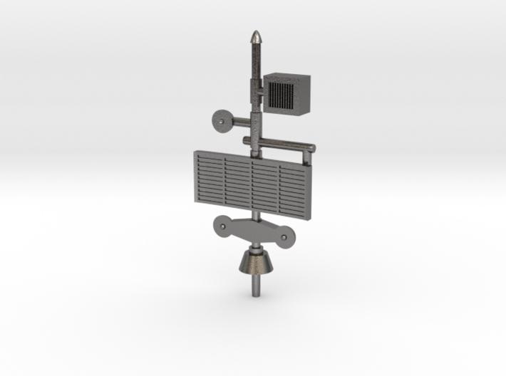 Alphatron Antenna 3d printed