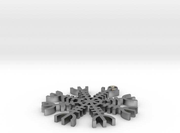 Tiny Aegishjalmer 3d printed