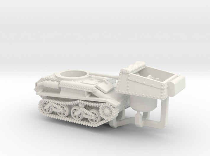 Vickers Light Tank MkV (2pdr) 3d printed