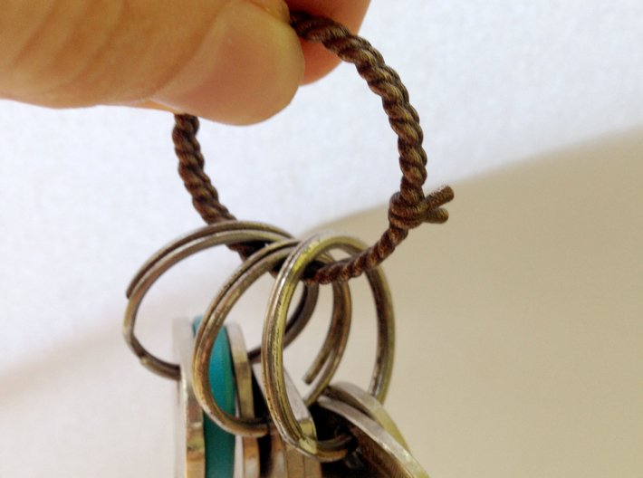 Rope    Keychain Holder 3d printed