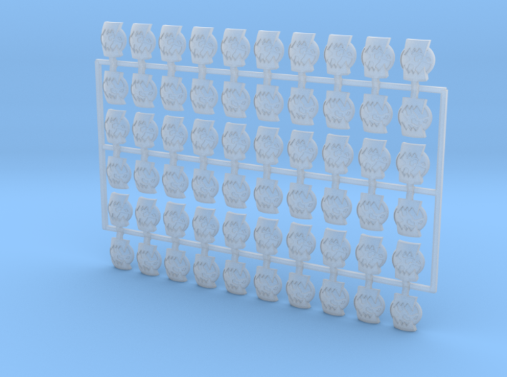 60x World Wreckers : Shoulder Insignia pack 3d printed