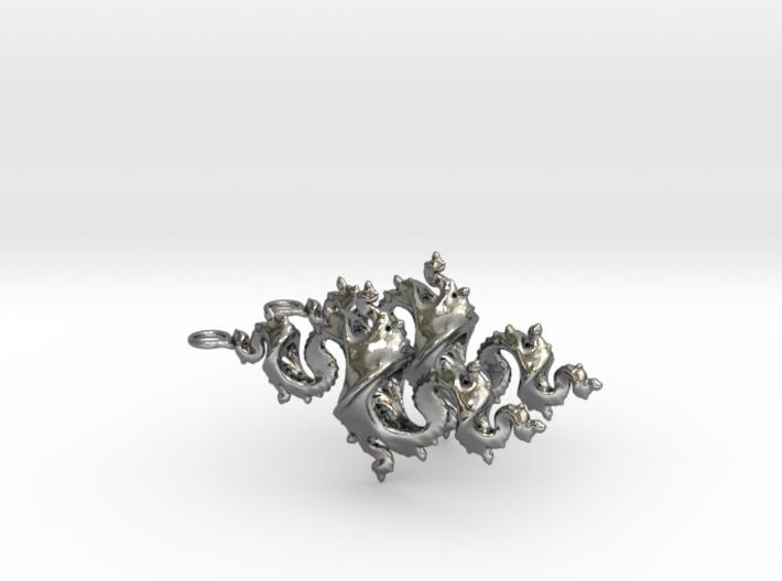 Dragon Earrings 4cm 3d printed