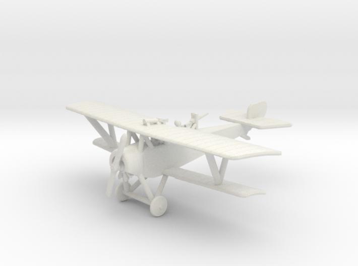 Nieuport 12 with Top-Wing Gun (1:144) 3d printed