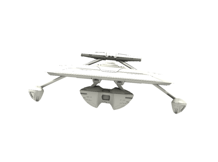 Kongo Class Cruiser (with Weapon Pod) 3d printed