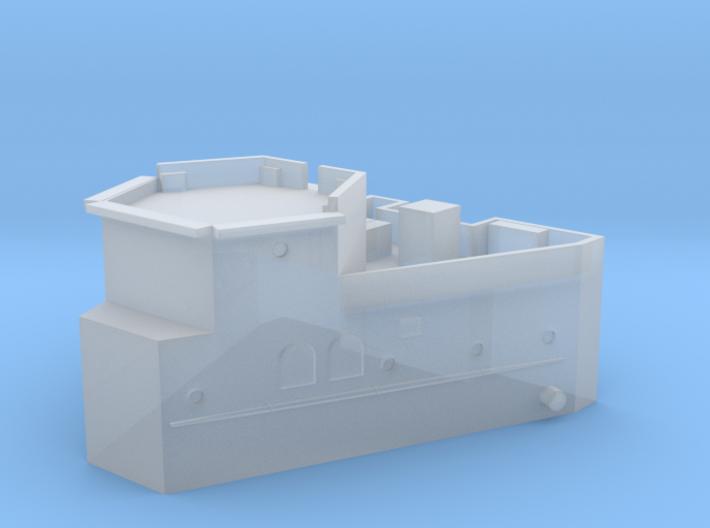1/600 HMS Barham Superstructure Aft 3d printed