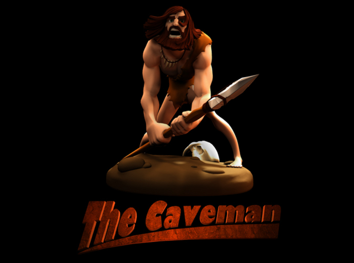 TheCaveman (Small) 3d printed Title Page