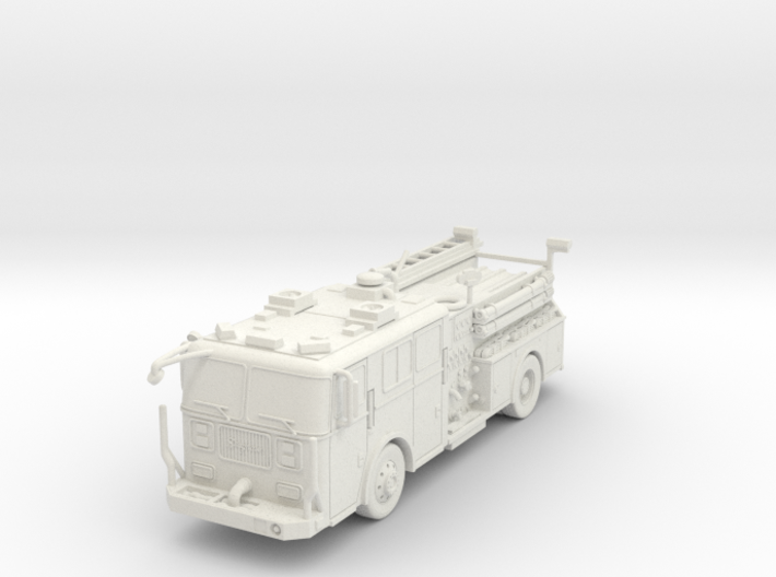 ~1/87 HO Seagrave-Engine 3d printed