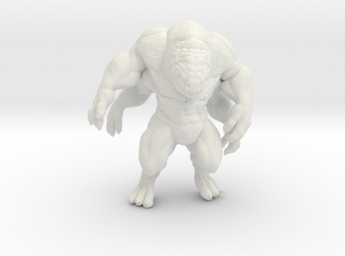 Brute 4 arms DnD miniature for games and rpg 3d printed