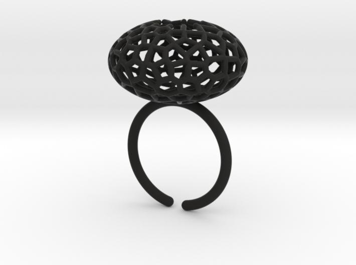 Star Coral Ring sz 8 3d printed