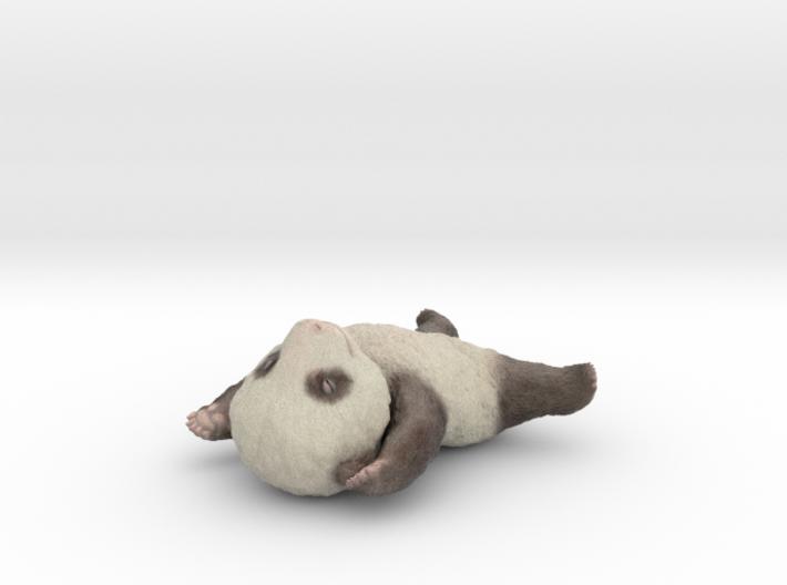 Sleepy Baby Panda 3d printed