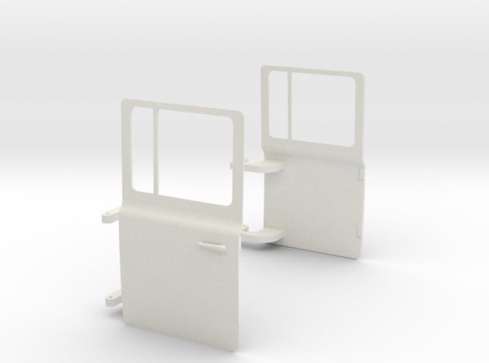Mack-shell4 Doors 3d printed