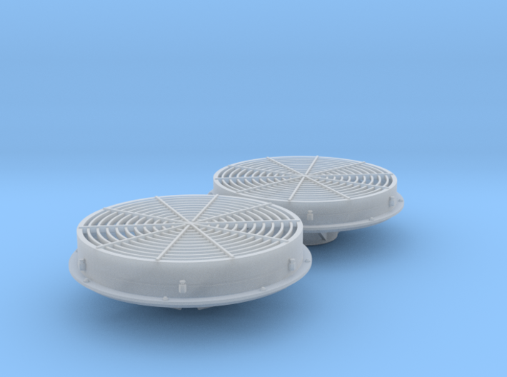 Mixed Low & Standard Dynamic Fans 1/48 3d printed