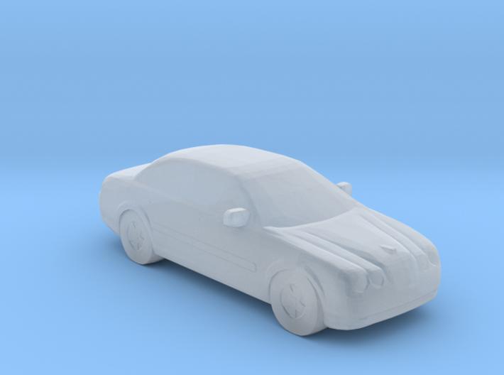Jaguar S type 1998 3d printed