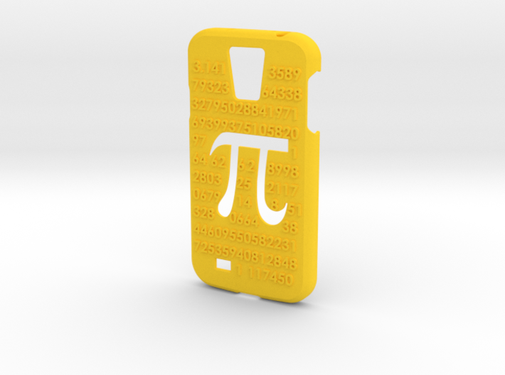 Galaxy S4 case - π 3,14 3d printed
