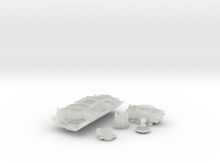 1/24 Scale Stock BBC 4 BBL Intake Kit 3d printed