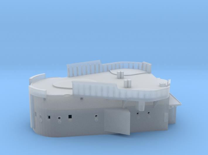 1/350 DKM Lützow Superstructure 1 3d printed