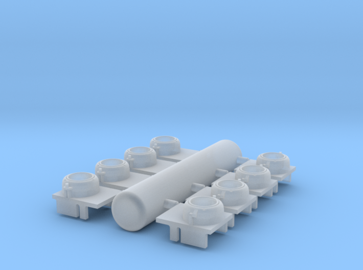 CPR Ditch Light 1/48 3d printed