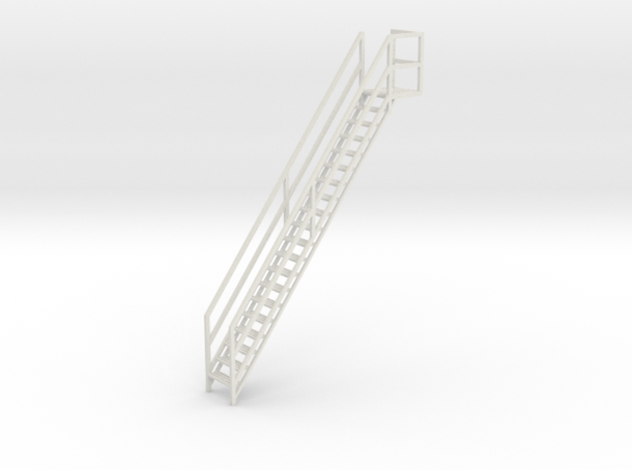 "1/64th ""S"" Scale Grain Leg/Tower Stair Section 3d printed"
