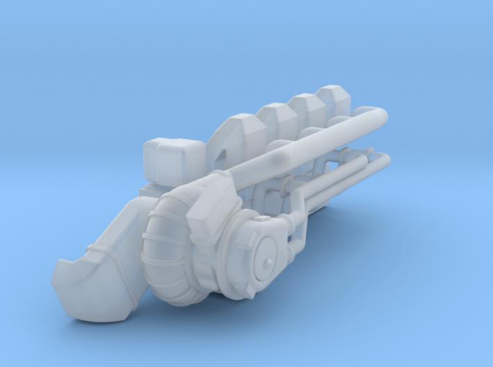 4SKRT Upper Engine 3d printed