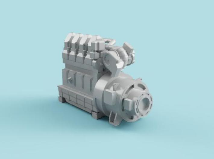 4SKRT Engine  Combined 3d printed Fusion 360 Image