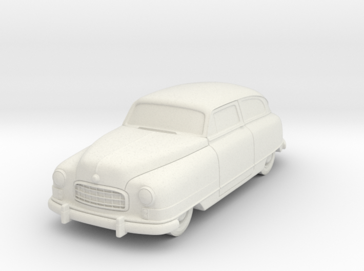 1949 Nash Ambassador 2 Door 3d printed