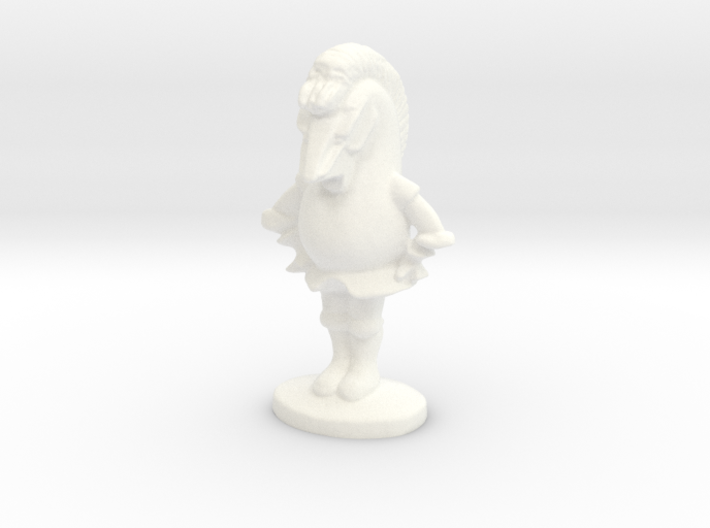 KNIGHT - Alice's Adventures in Wonderland 3d printed White Knight