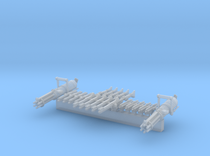 Weapon Pack Legion Scale for Star Wars Clone Wars 3d printed
