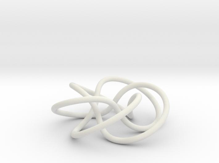 (5,3) Torus Knot 3d printed