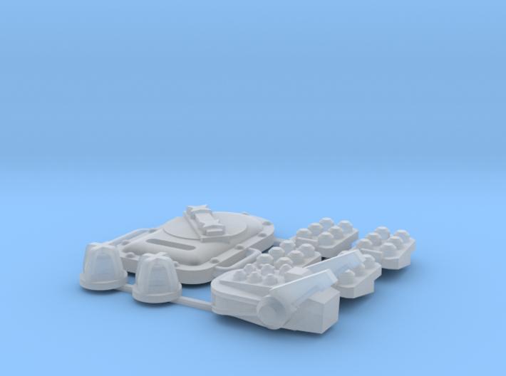 NLC  MPJaguar Monk Remodeling Set 3d printed