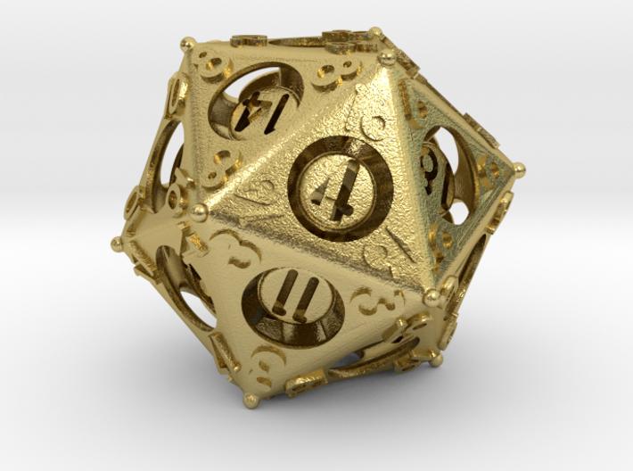 D20 Balanced - Advantage 3d printed