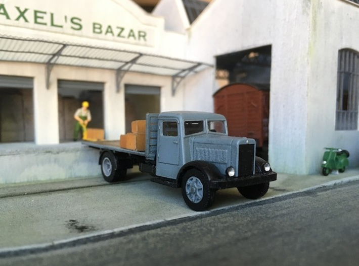 1:87 Berliet GDR 1936-1949 3d printed
