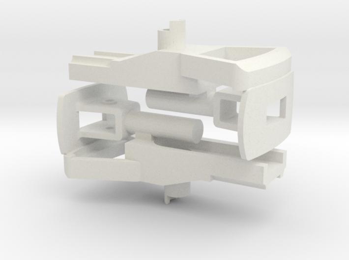 CFF Trichterkupplung mit Deichsel 3d printed