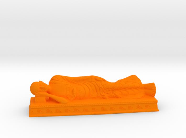 Sleeping Gandhi 3d printed