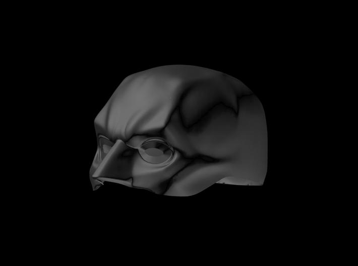 Graphite Cowl Shapeways 3d printed