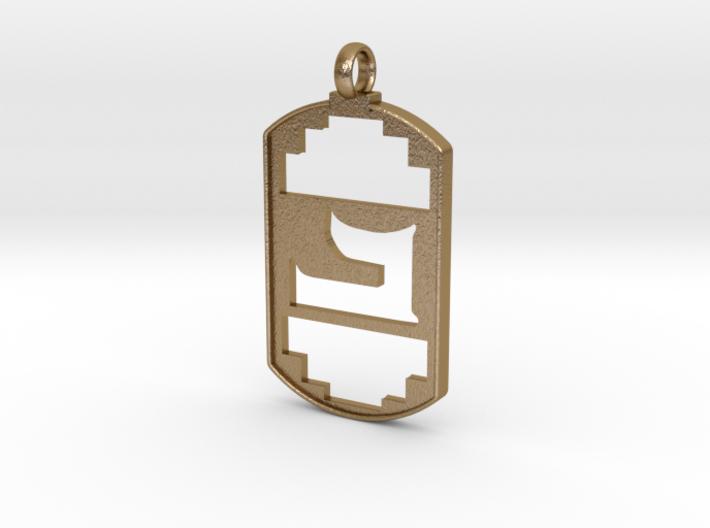 Beth Symbol Pendent 3d printed