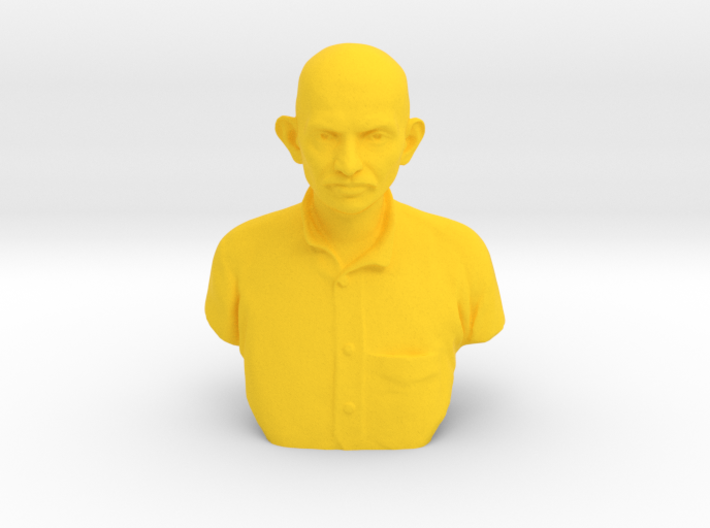Young Gandhi 3d printed