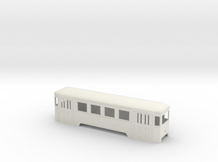 n2 Wiener Stadtbahn Beiwagen mit Lichtöffnung 3d printed