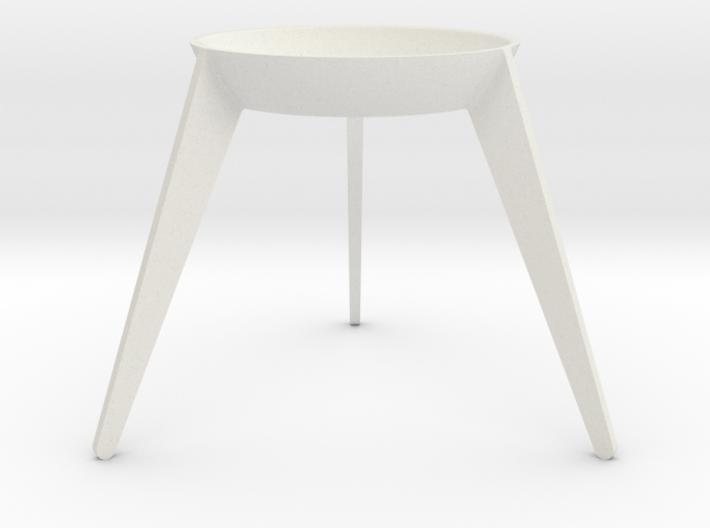 Sputnik - Avocado Seed Seat 3d printed