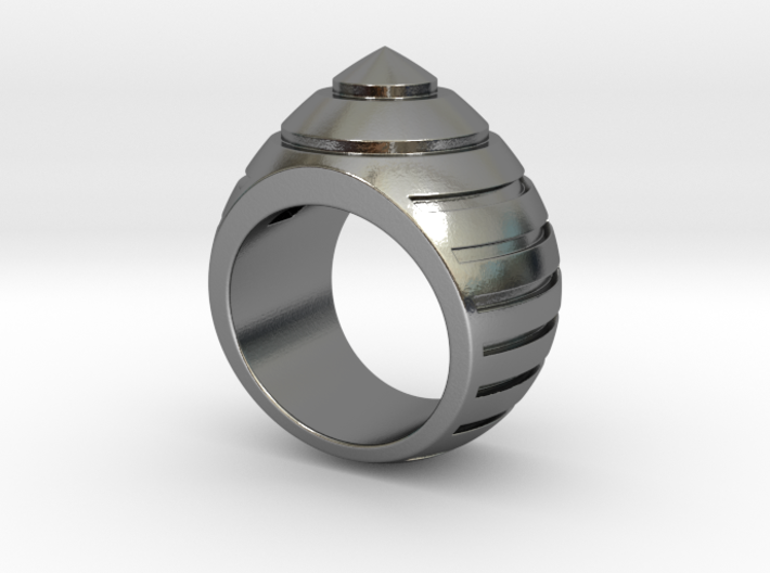 Bumble Bee Ring - Size  9 1/2 (19.35 mm) 3d printed