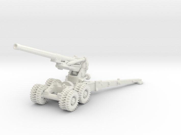 7.2 inch Howitzer 1/87 3d printed
