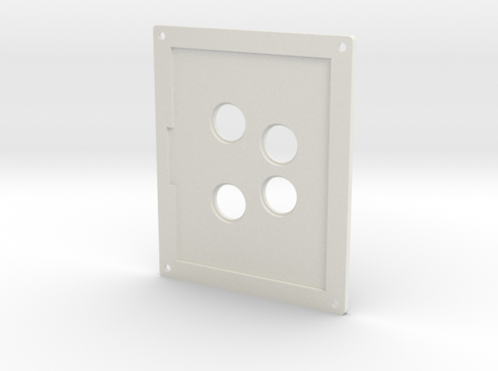 Towing Pin Plate AHT 3d printed
