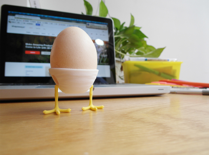 Little Feet - Eggcup (Body) 3d printed