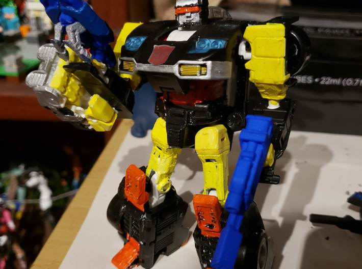 Jackpot head for Potp jazz 3d printed