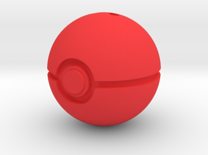 PokéBall Keychain/Pendant Charm 3d printed