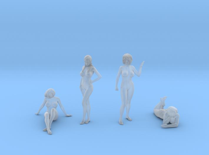Female Swimsuit Set 3d printed
